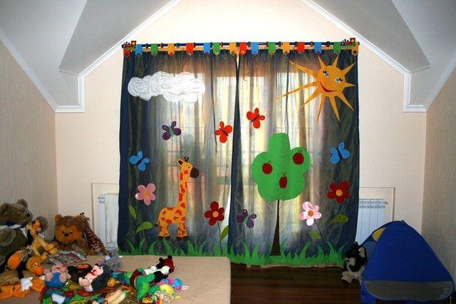 О самом интересном шторы для детской