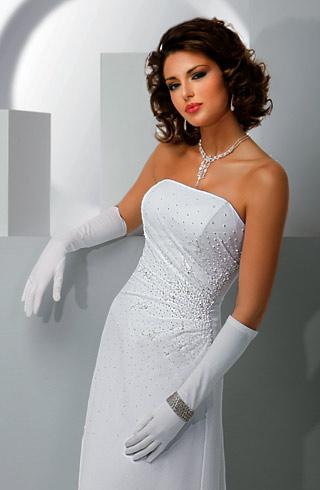 Украшение на свадебное платье фото