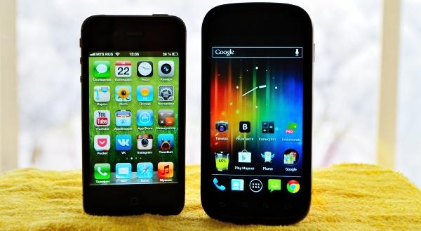Пользователи iOS активнее пользуются интернетом, нежели владельцы устройств на базе Android