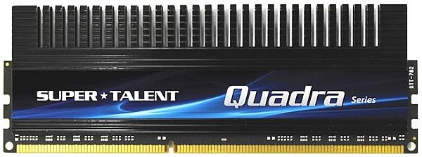 Четырехканальный набор модуля памяти DDR3 Super Talent Quadra