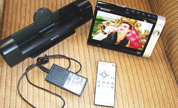 Портативный DVD-плеер Sony D-VE70000S: цвета выглядят максимально реалистично